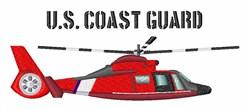 US Coast Guard embroidery design