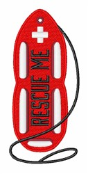 Rescue Me embroidery design