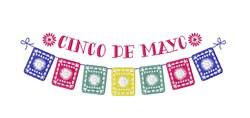 Cinco De Mayo Banner embroidery design