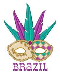 Brazil Mask embroidery design