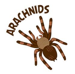 Arachnids embroidery design