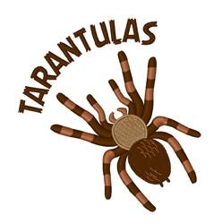 Tarantulas embroidery design