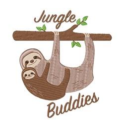 Jungle Buddies embroidery design