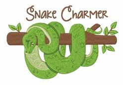 Snake Charmer embroidery design