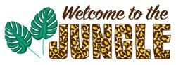Welcome To The Jungle embroidery design