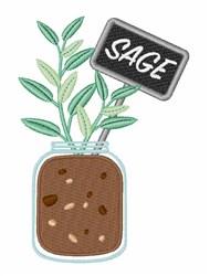 Sage Garden embroidery design