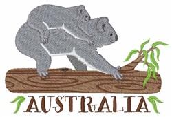 Australia Koalas embroidery design