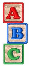 ABC Blocks embroidery design