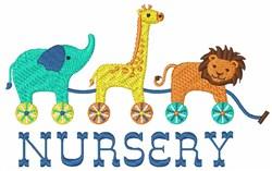 Nursery Animals embroidery design