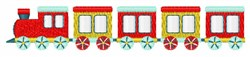 Choo-Choo Train embroidery design