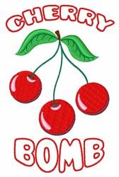 Cherry Bomb embroidery design