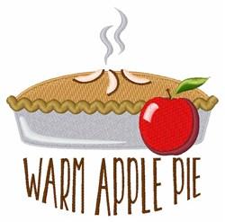 Warm Apple Pie embroidery design