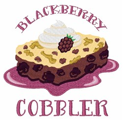 Blackberry Cobbler embroidery design