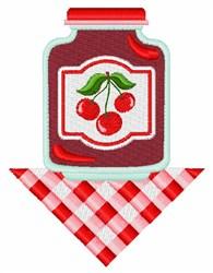 Cherry Jam embroidery design