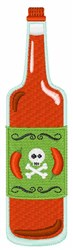 Hot Sauce Bottle embroidery design