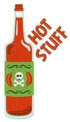 Hot Stuff embroidery design