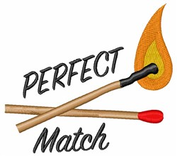 Perfect Match embroidery design
