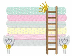 Fairytale Bed embroidery design