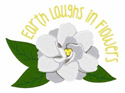 Earth Laughs In Flowers embroidery design