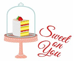 Sweet On You embroidery design