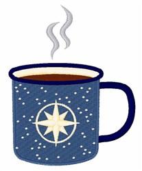 Tin Coffee Mug embroidery design