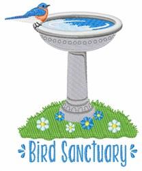 Bird Sanctuary embroidery design