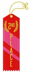 2nd Place embroidery design