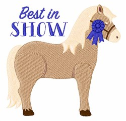 Best In Show embroidery design
