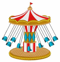 Carnival Swings embroidery design