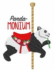 Panda-Monium embroidery design