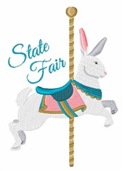 State Fair embroidery design