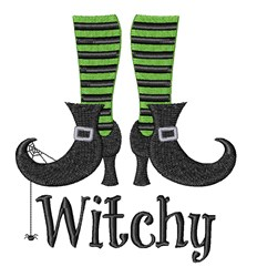 Witchy Shoes embroidery design