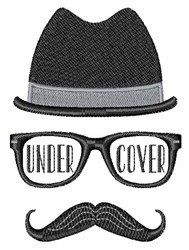 Under Cover embroidery design