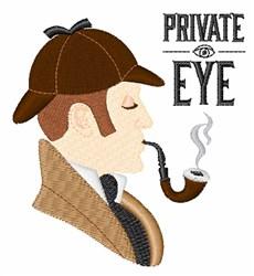 Private Eye embroidery design