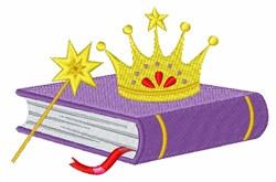 Fairytale Book embroidery design