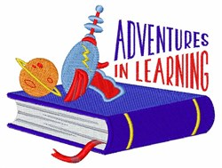 Learning Adventures embroidery design