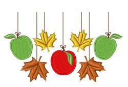 Fall Mobile embroidery design