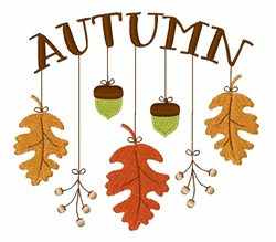 Autumn Mobile embroidery design
