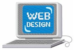 Computer Web Design embroidery design