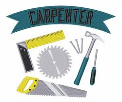 Carpenter embroidery design