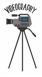 Videography embroidery design
