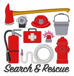 Search & Rescue embroidery design