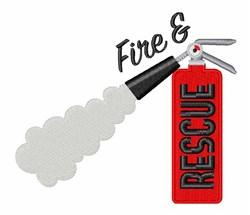 Fire & Rescue embroidery design