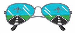Aviator Sunglasses embroidery design