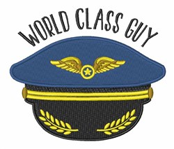 World Class Guy embroidery design