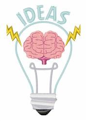 Light Bulb Ideas embroidery design