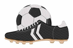 Soccer Gear embroidery design