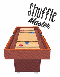 Shuffle Master embroidery design