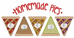 Homemade Pies embroidery design