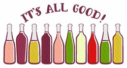 Its All Good! embroidery design
